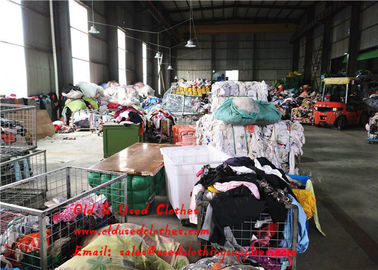 China Africa 45 Kg Used Womens Clothing Bulk Second Hand Apparel All Size supplier