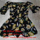 China Adults Used Womens Clothing Sunflower Logo Second Hand Ladies Dresses factory