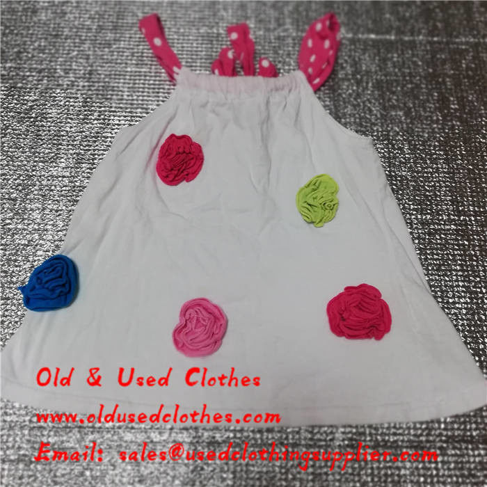 b77fc9986 China Summer Used Kids Clothes Second Hand Baby Clothes Cotton Material  supplier